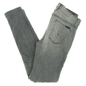 Hudson Jeans Stark Moto Super Skinny Zip Pockets